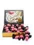 0270B 12 stk Delicious Chocolates m/Lakris og Jordbærmandler 200