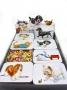 0394 32 stk Bokser med dyremotiv m/Fruktdrops 70g