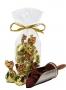 1597 12 stk Sjokoladetrøffel i Gullfolie 100g